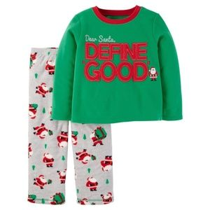 Carter's Define Good Fleece Pajamas 18 months